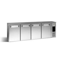 ECO-Line 4 portes pleines inox