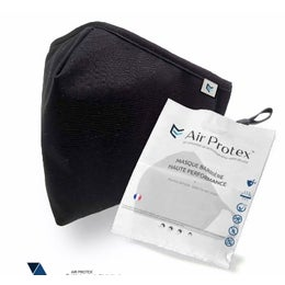 Masque barrière Air Protex - Personnalisable avec logo - Couleurs et motifs