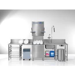 Lave-vaisselle à passage PT-M Winterhalter EnergyPlus 10,8 kW