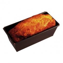 Moule à cake anti-adhérent - 33x105x8cm - Bords pliés sur fil