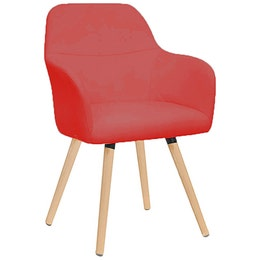 Fauteuil collection 1335 - Rouge