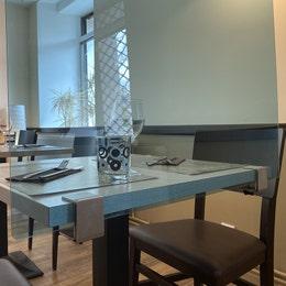 Séparateur de table - Plexiglas 4mm transparent - 60x60cm