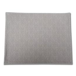 Set de table - Effet tissu - 30 x 40 cm - Acier