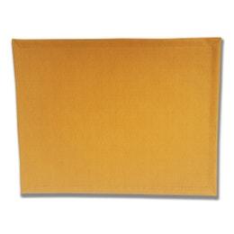 Set de table - Effet tissu - 30 x 40 cm - Moutarde