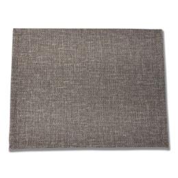 Set de table - Effet textile - 30 x 40 cm - Cottage gris
