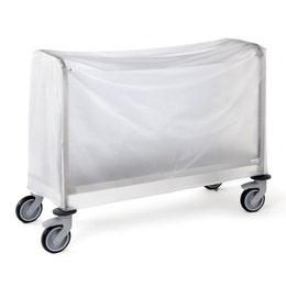 Housse de protection PVC pour chariot 400 assiettes
