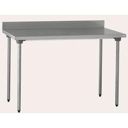 Table inox CHR adossée 1000 x 700 x 900 mm
