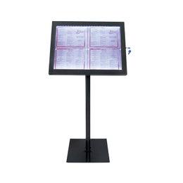 Porte-menus 4A4 Black Star - 144x50 cm - A4