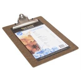 Protège menu Clipboard - Porte menus A4 - 23x33 cm