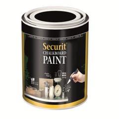 Peinture ardoise acrylique - 0,25 L - A base d'eau