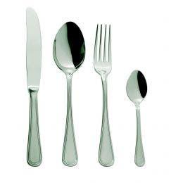 Couteau de table monobloc - gamme Inglès - inox 18/10