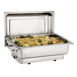 Chaffing dish électrique avec thermostat - 510x540x480 mm