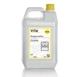 Liquide rinçage pour machines à laver industrielles - Bidon 5 L