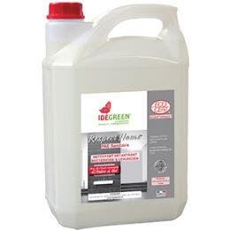 Détartrant désodorisant désinfectant IdeGreen - Bidon de 5 L