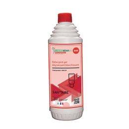 Détergent gel dégraissant et blanchissant - Flacon de 1 L