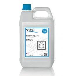 Lessive liquide - Bidon 5 L - tous types de textiles