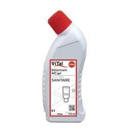 Détartrant gel WC - Flacon de 750 ml  avec bec canard