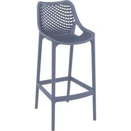 Tabouret Air Bar 75 - Gris Anthracite - 45 x 53 x 105