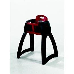 Chaise bébé Breeze - rouge et noir - polyéthylène