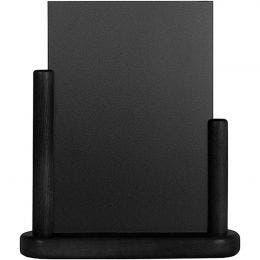 Ardoise de table Medium - 15 x 21 cm - noir