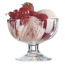 Coupe à glace Sorbet - verre transparent - 38 cl