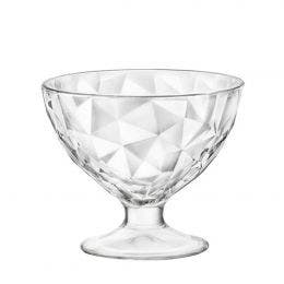 Coupe à glace Diamond - verre transparent - 36 cl