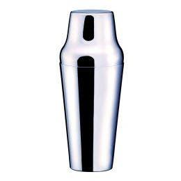 Shaker 2 pièces - inox 18/10 - 75 cl - diam 6,5 x ht 24,5 cm