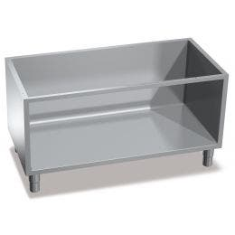 Support neutre - acier inox - 560 x 1200 x 630 mm