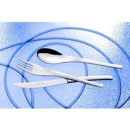 Fourchette à dessert - gamme Golf - inox 18%