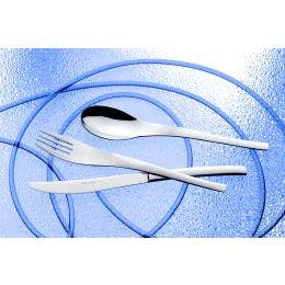 Cuillère à dessert - Golf - inox 18% - 2,5 mm