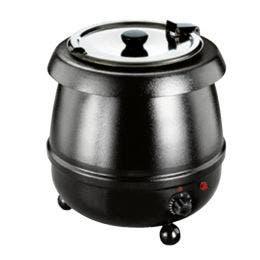 Marmite à soupe - 8 L - cuve en inox - diamètre 400 mm