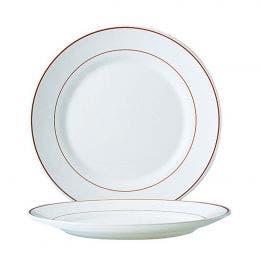 Assiette plate gamme Restaurant diam 155 mm