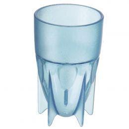 Gobelet 5 pieds - 16 cl - 6,2x10 cm - bleu