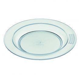 Assiette 1/2 creuse verte de 180 mm