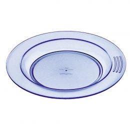 Assiette 1/2 creuse bleue de 180 mm