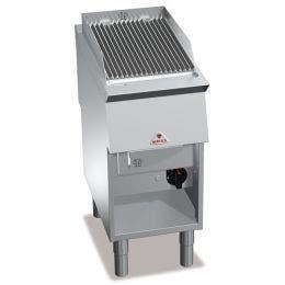Grille gaz - sur placard - AISI 304 - épaisseur 20/10