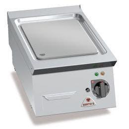 Grillade électrique - Plaque lisse - 4,8 Kw - 40 kg