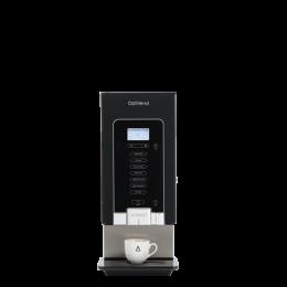Distributeur semi-automatique noir - 3 bacs /2 mélangeurs