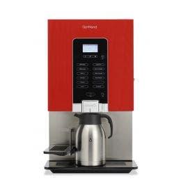 Distributeur rouge - 1 bac/1 mélangeur - pour tasses/thermos