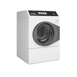 Lave-linge professionnel blanc 10KG - 400V(Tri+N) - vidange pompe
