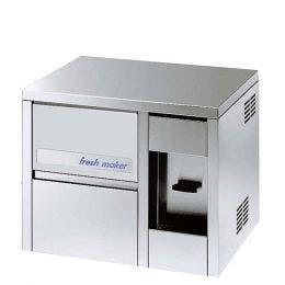 Machine à glaçons avec distributeur d'eau - inox