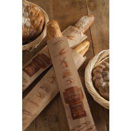 Emballage à gros pain papier Kraft Brun