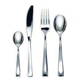 Fourchette de table - Couverts métallisés - 190 mm