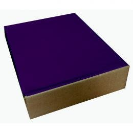 Set de table papier Symphonie 30x40 cm bourgogne