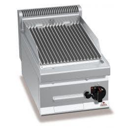Pierre de lave gaz sur meuble - 700 x 400 x 290 - 6,9 kw