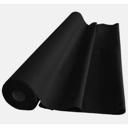 Nappe Tango noire non tissée en rouleau - 1,20x25m