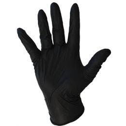 Gant nitrile noir en taille S