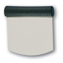 Coupe pâte en inox - arrondie - rigide