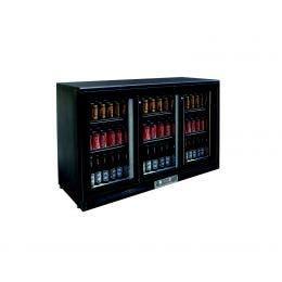 Arrière de bar - +2/+10°C - 305L - 3 portes - 1350x535x930 mm