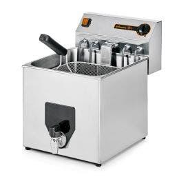 Friteuse à poser - cuve 10 litres -  production 20kg/h